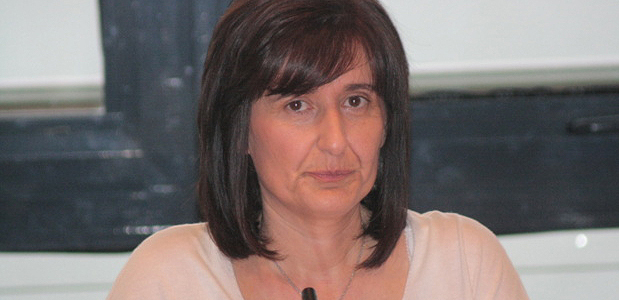 Nathalie Carlotti a été élue à l'unanimité des votants présidente de la CCI de Corse-du-Sud lors de l'élection qui s'est tenue lundi après-midi au Palais des congrès d'Ajaccio. (Photo Marilyne Santi)