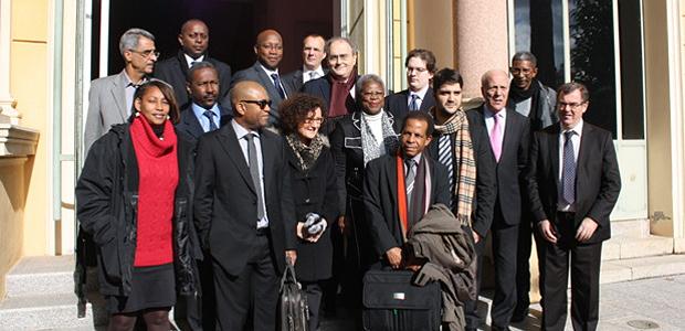 La délégation guyanaise reçue à la CTC (Photo Marilyne Santi)