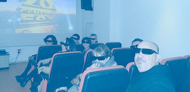 Tous les animateurs des médiathèques équipés des lunettes actives 3D (DR)
