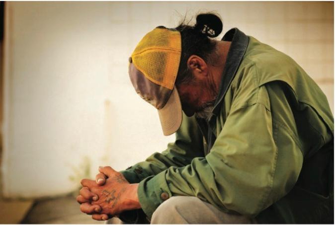 Les personnes sans domicile fixe peuvent compter sur les associations d'aide pour rester confinés dans un lieu sûr et accueillant.