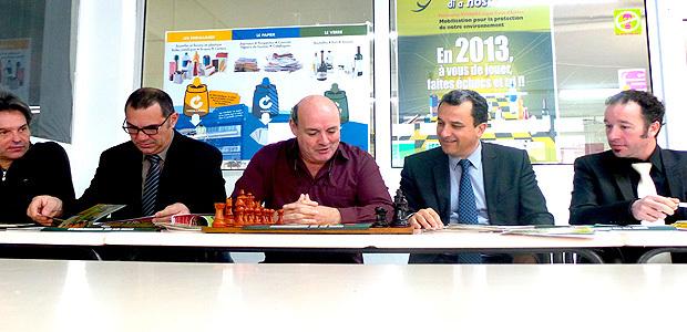 Syvadec et Ligue corse d'échecs : Le même message