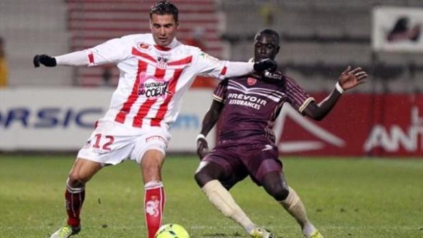 Très en jambes contre V.A malgré un match en demi-teinte de l'équipe entière, Mutu devra lui aussi confirmer ses bonnes intentions à Evian (Photo Eurosport.fr)