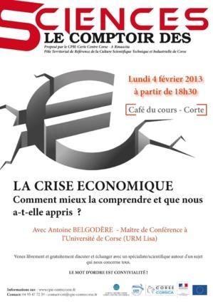 """Corte : Le premier """" Comptoir des Sciences """""""