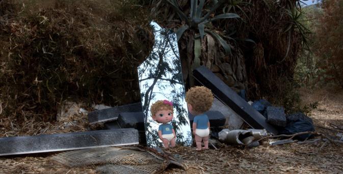 « Bébé colère » la video de Caroline Poggi et Jonathan Vinel pour la fondation Prada