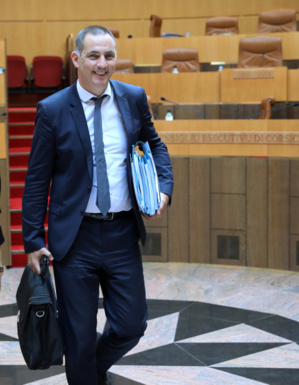 Gilles Simeoni. Photo Michel Luccioni.