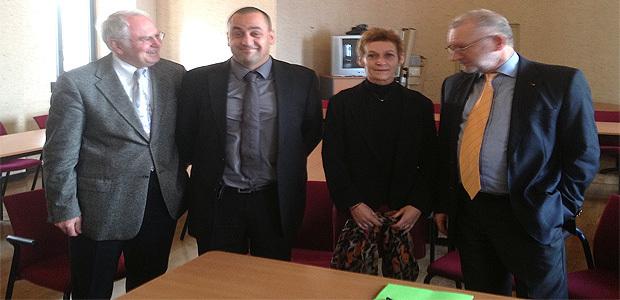 MM. Gérard Jodineau, Chaudron, Mme Noilhetas et M. Franceschi
