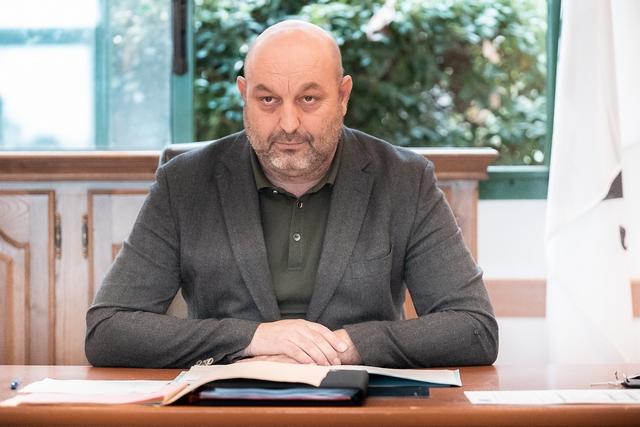 Lionel Mortini, président de l'Intercom di l'Isula (Photos Eyefinity Prod/Kevin Guizol