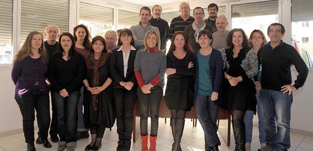 Toute l'équipe du CRDP d'Ajaccio au service de la promotion et de la diffusion des connaissances au plus grand nombre. (Photo : DR)