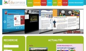 Le site internet du CRDP fait la part belle aux nouveaux contenus multimédias. (Repro : Y-C G.)