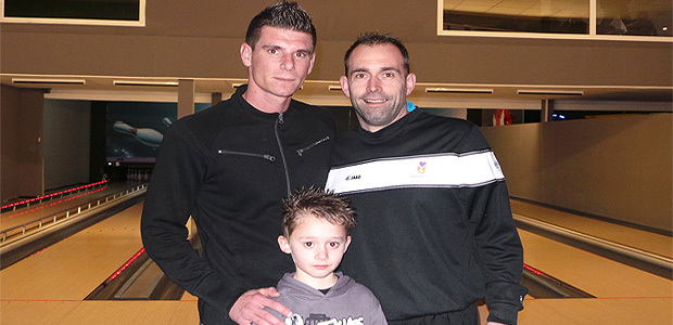Jérémy Choplin, Logan et Christophe Warluzel