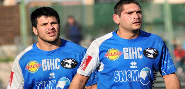 Anthony Napoli (à droite) : 14 ans au service du rugby. (Photo Eric Jehl)