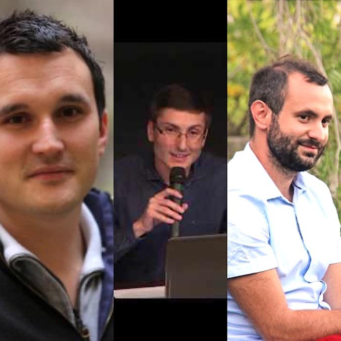 Julian Mattei, , Ange-Toussaint Pietrera et Petru-Santu Menozzi