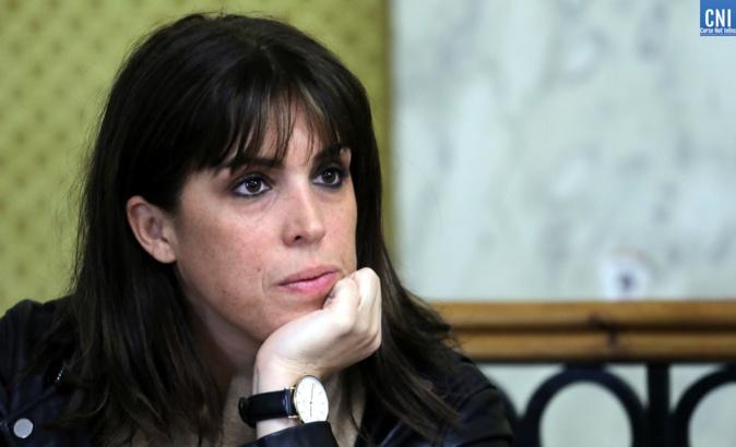 La présidente d'Inseme Laetitia Descoin-Cucchi. Photo : Michel Luccioni