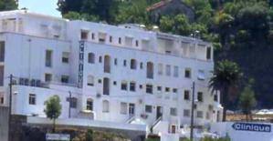 Le bâtiment de la clinique Maymard.