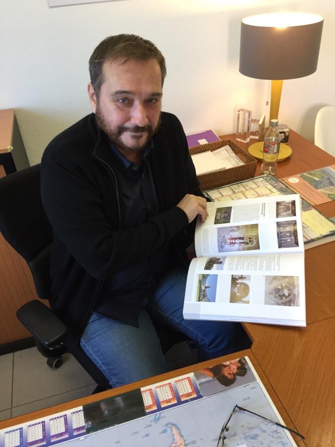 Michel-Édouard Nigaglioni, chercheur au service inventaire de la CdC, a présenté l'ouvrage à CNI