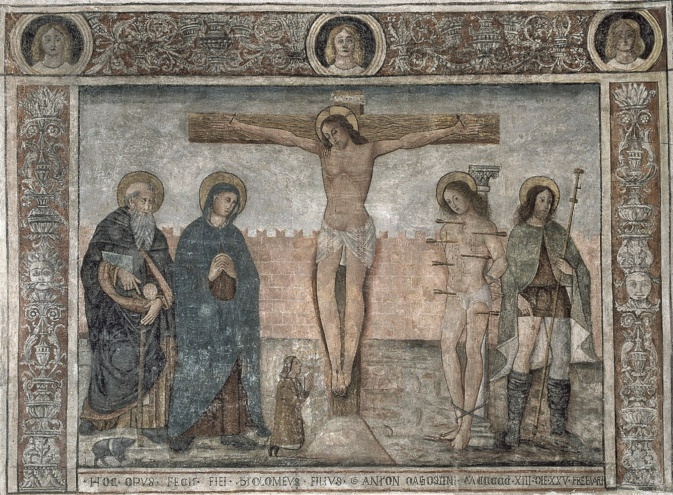 La Corse comptait  200 édifices décorés à la fin du 16e siècle : seules 20 fresques médiévales sont recensées
