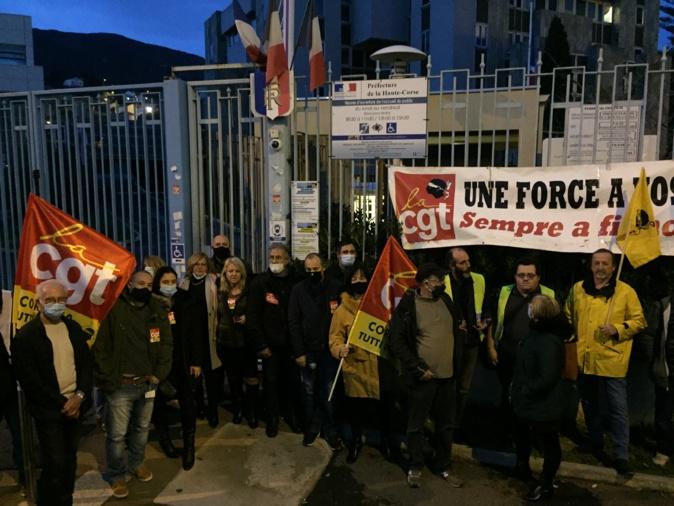 """Bastia : Rassemblement pour la """"défense de l'emploi, des droits sociaux et des libertés"""""""