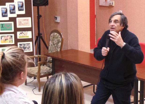 """Marcel Rufo aux lycéens de Montesoro : """"Je vais revenir"""""""