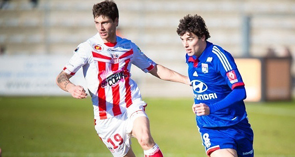 Très en vue face à Lyon, Paul-Bastien Lasne sera de nouveau en charge de la récupération contre son club formateur (Photo Paule Santoni)