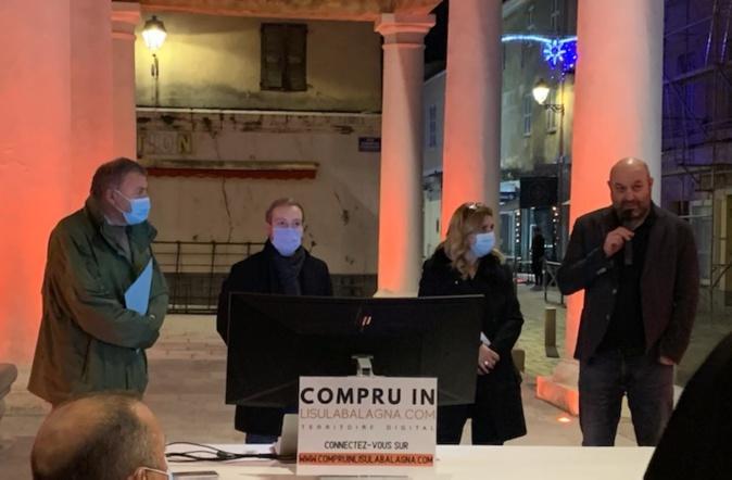 """Le lancement de """"Compru in Lisula Balagna officialisé hier soir"""