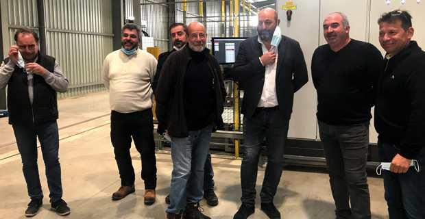 Agrumes : Lionel Mortini chez AgruCorse pour soutenir le rapatriement d'une usine en Corse