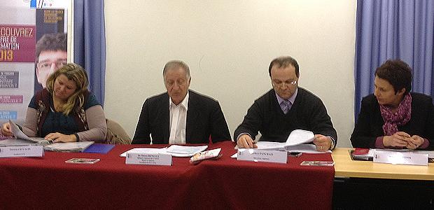 Le délégue régional, le directeur et les syndicats