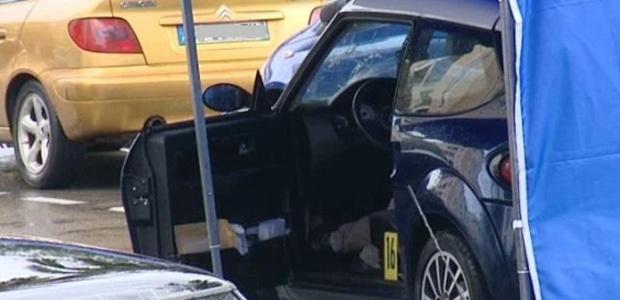 Les tueurs n'ont laissé aucune chance à Dominique Laorenzi, abattu froidement au volant de son véhicule en milieu de matinée à Ajaccio. (Photo : DR - France3 Corsica Via Stella)