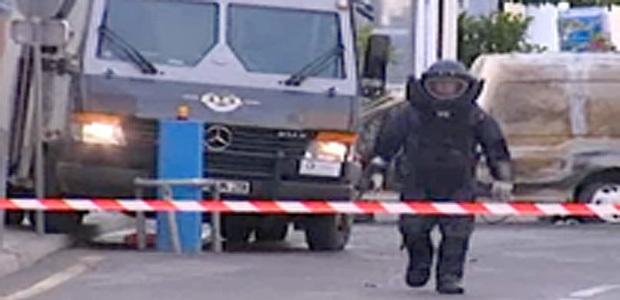 Le 26 Octobre 2011 à Saint-Florent après l'attaque du fourgon blindé