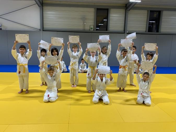 Porto-Vecchio : des ceintures pour la reprise des judokas