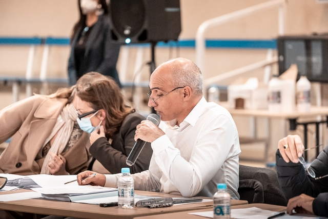 Réunion présidée par François-Marie Marchetti (reportage photos Eyefinity Prod/Kevin Guizol)