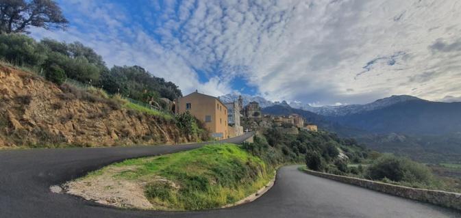La photo du jour : Montemaggiore et le Montegrossu