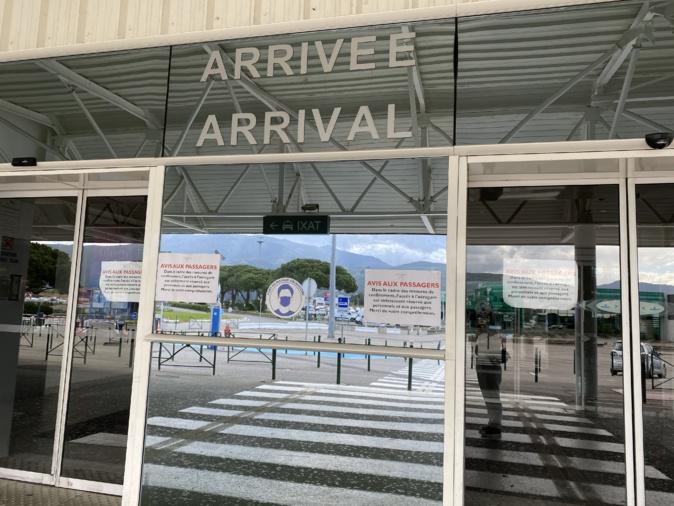 Covid-19 - Accès limité aux passagers à l'aérogare de Bastia - Poretta