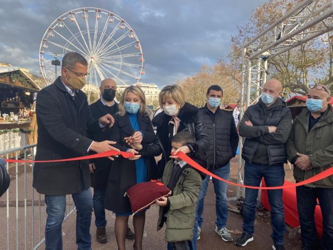 Le marché de Noël de Bastia a ouvert ses portes