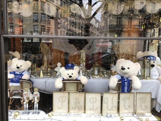 Paris : l'Elysée Saint-Honoré aux couleurs du bleu du Sporting