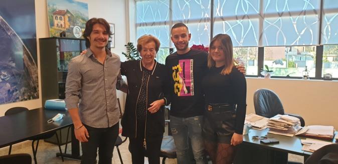 G.Le Van, Anne-Marie Natali, S.Da Costa et C.Sampieri