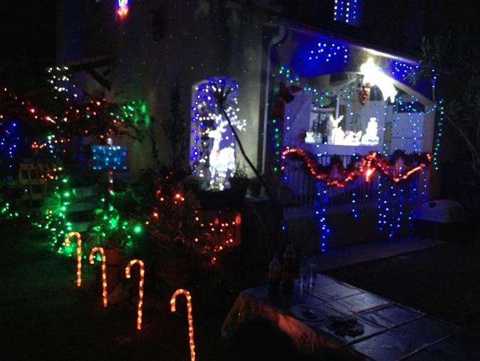 Borgo. Des lumières de Noël à l'américaine
