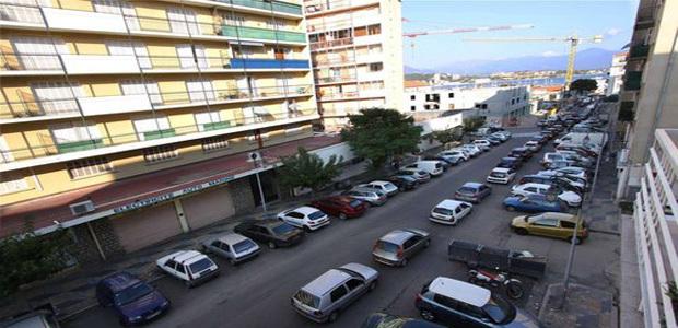 C'est dans le quartier Saint Jean que l'individu a tenté d'agresser mercredi matin deux femmes avec un couteau de cuisine. (Photo : DR - Corse Net Infos)