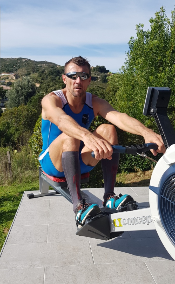 L'Ajaccien Frédéric Kowal médaillé aux championnats d'Europe Indoor d'aviron