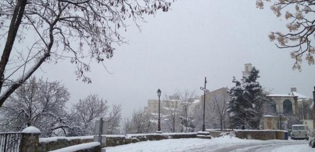 En Balagne, pluie, pluie et... neige!