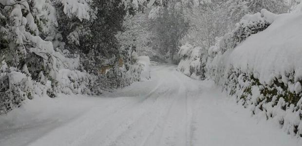 Ajaccio épargné par la neige mais pas les environs
