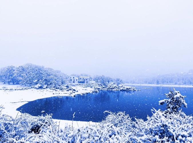 La Corse sous la neige: vos plus belles photos (suite !)