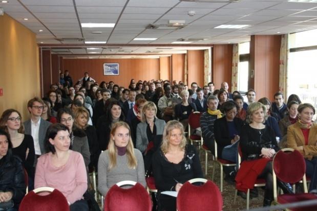 Les élèves de la 32e promotion de l'Institut Régional d'Administration en visite à Ajaccio