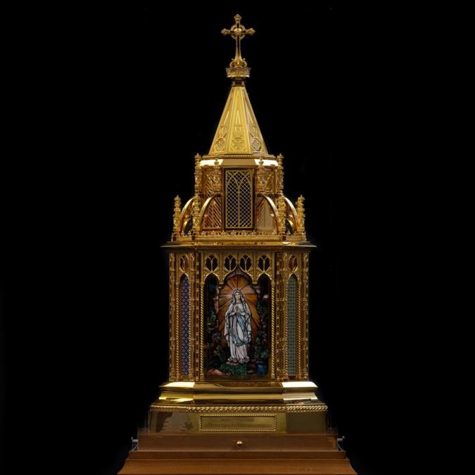 Bastia : Le reliquaire de sainte Bernadette à Notre-Dame de Lourdes
