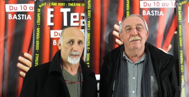 Jean Pierre Lanfranchi et François Berlinghi