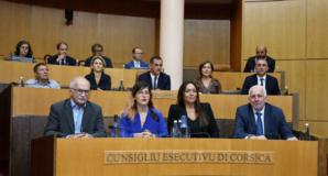 Le Conseil exécutif de la Collectivité de Corse. Photo Michel Luccioni.