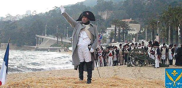 Commémoration du débarquement de Napoléon à Golfe-Juan