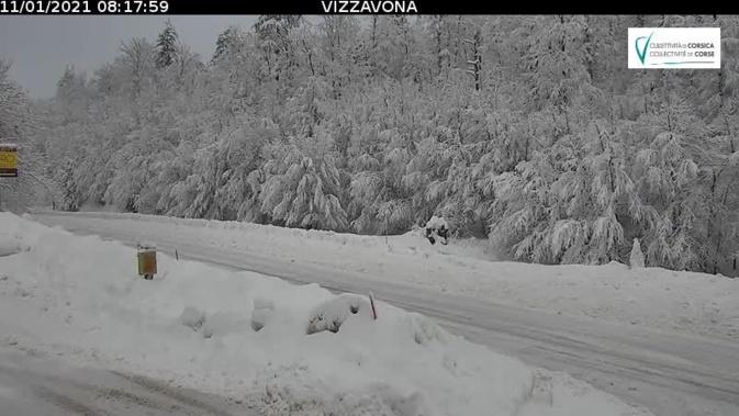 Equipements obligatoires ce lundi pour franchir le col de Vizzavona