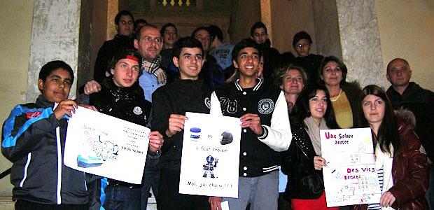 Tous les participants ont été reçus à la mairie pour une cérémonie au cours de laquelle les divers prix leur ont été remis. (Photo Yannis-Christophe Garcia)