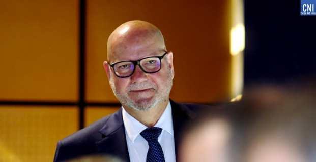 Jean Dominici, Président de la Chambre de commerce et d'industrie (CCI) de Corse. Photo Michel Luccioni.