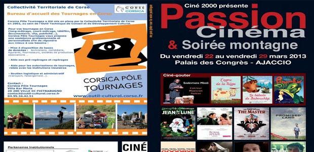 """Le festival """"Passion cinéma et soirée montagne"""" se déroulera du 22 au 29 mars au Palais des Congrès d'Ajaccio. (Doc : DR - Ciné 2000)"""